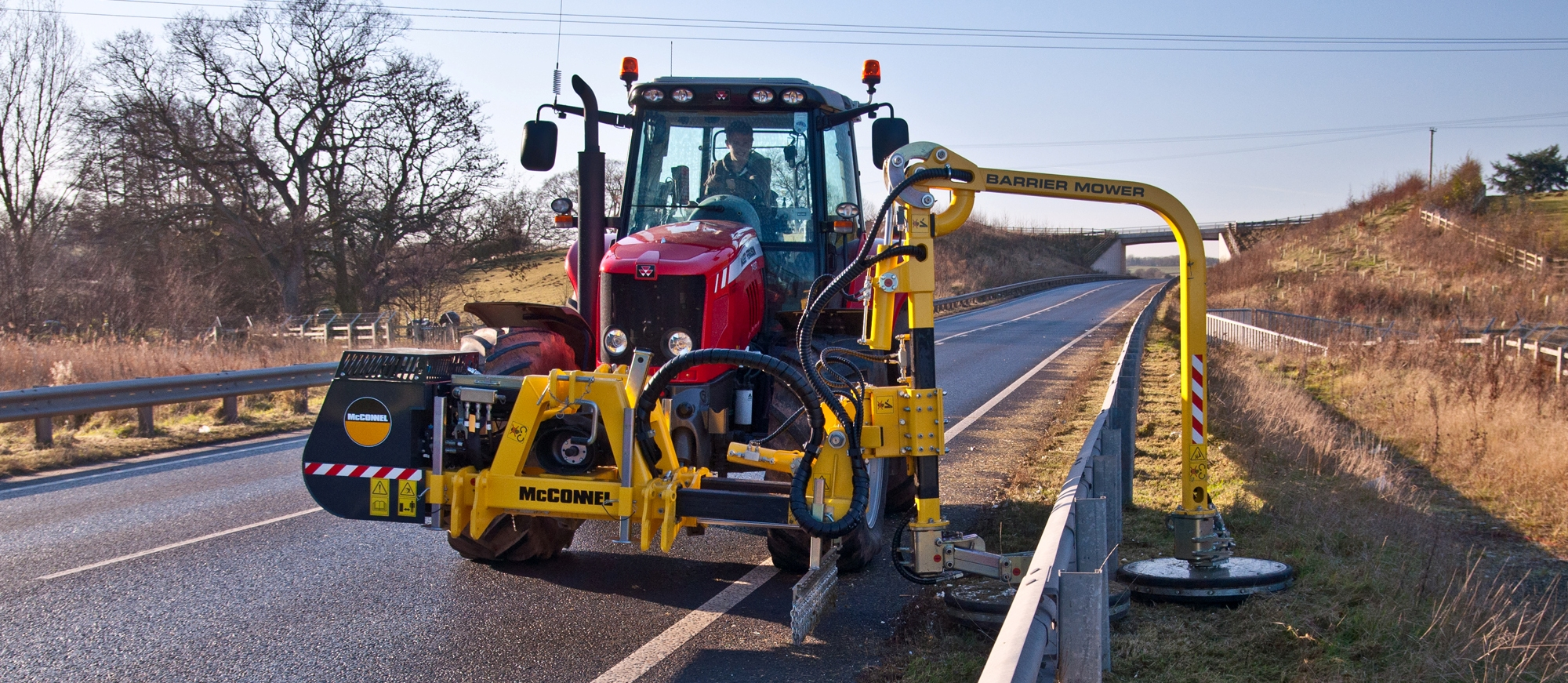 New McConnel Barrier Mower Now Available