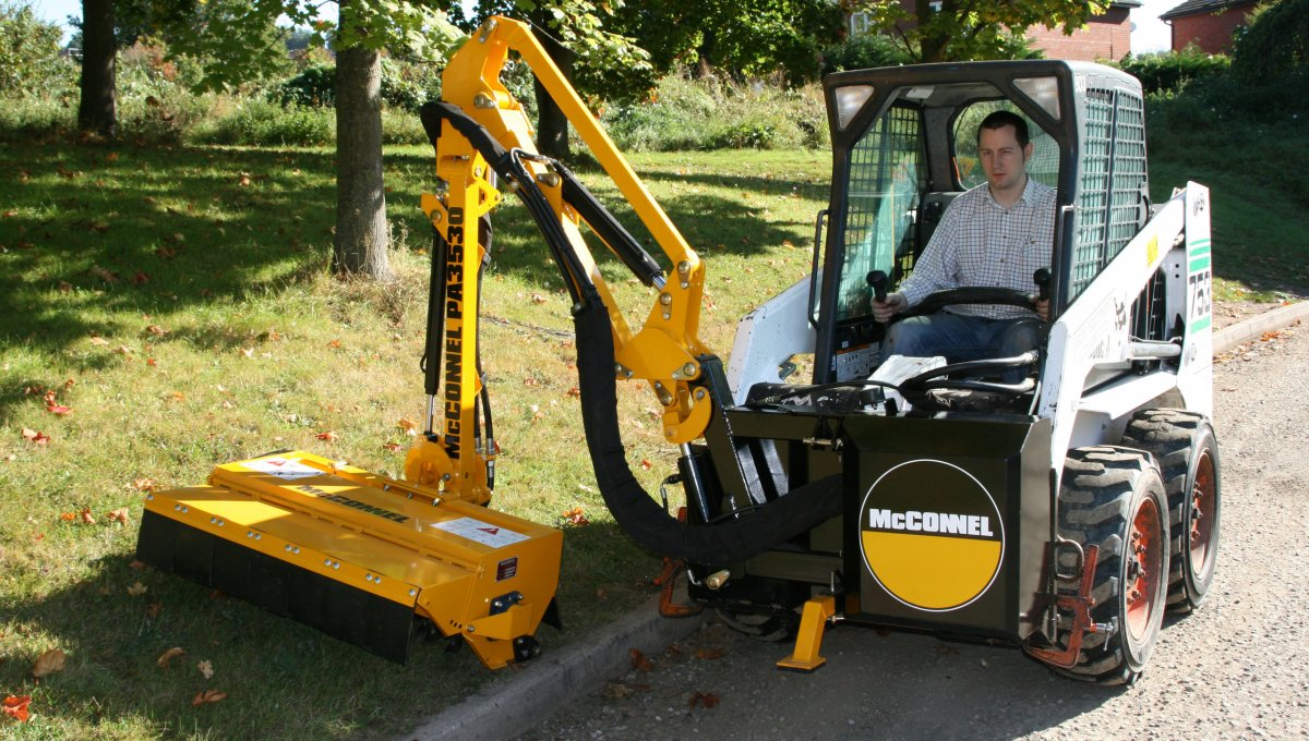 Rotary Boom Mowers For Compact Tractors : Mcconnel power arm series international mowers