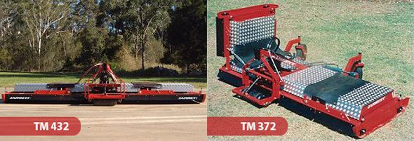 Jarrett TM Series Wing Deck Finishing Mowers