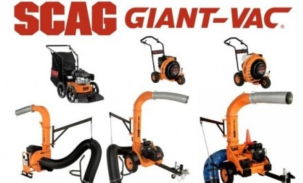 SCAG Giant-Vac Range