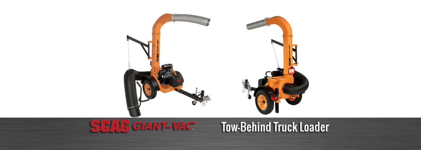 Scag Giant-Vac Tow Behind Truck Loader
