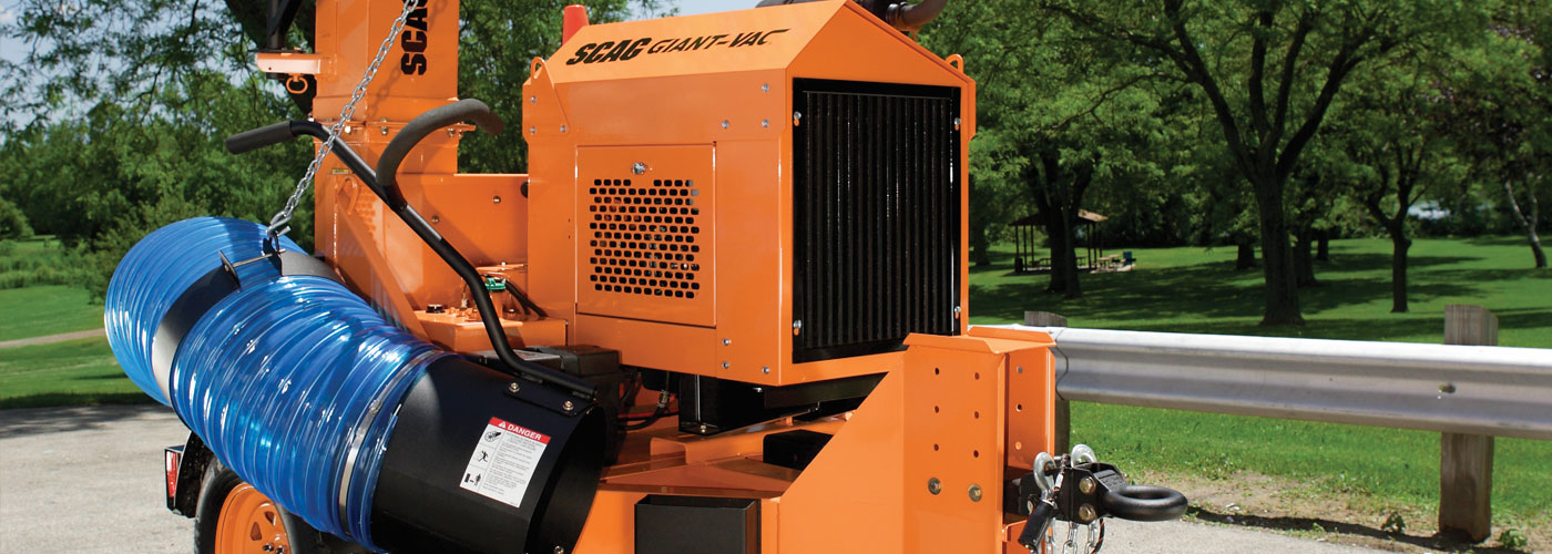 Scag Giant-Vac Industrial Tow Behind Truck Loader